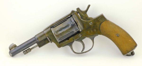Belgum Antique Revolver 7 62x38R Nagant not Russia | LugerMan