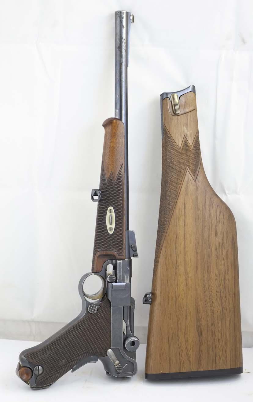 Luger Carbine 1902 Stock