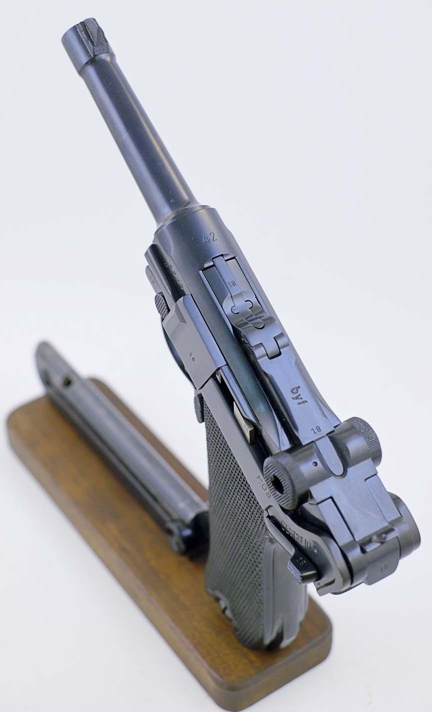 P08 Luger Mauser BYF S/42   LugerMan